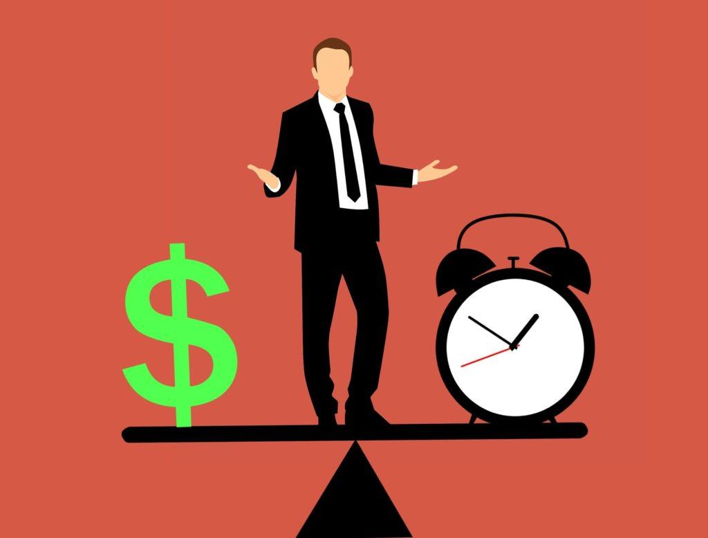 お金で時間を測る時給思考